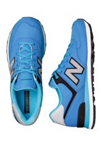 New Balance - ML574 Blue/Black - Shoes