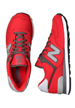 New Balance - ML574 Red/Black - Shoes
