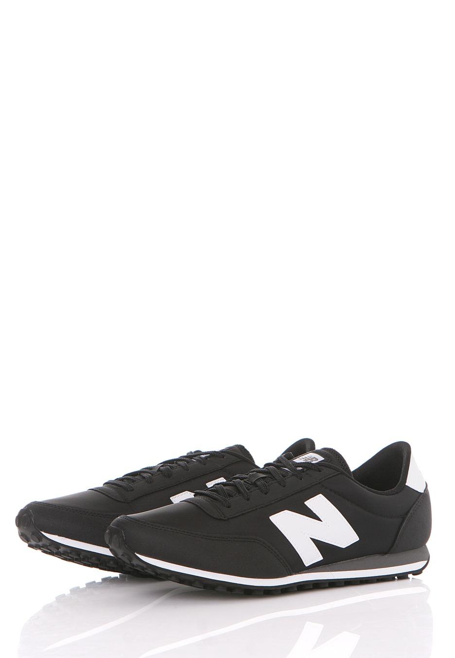 new balance u410 black white shoes official