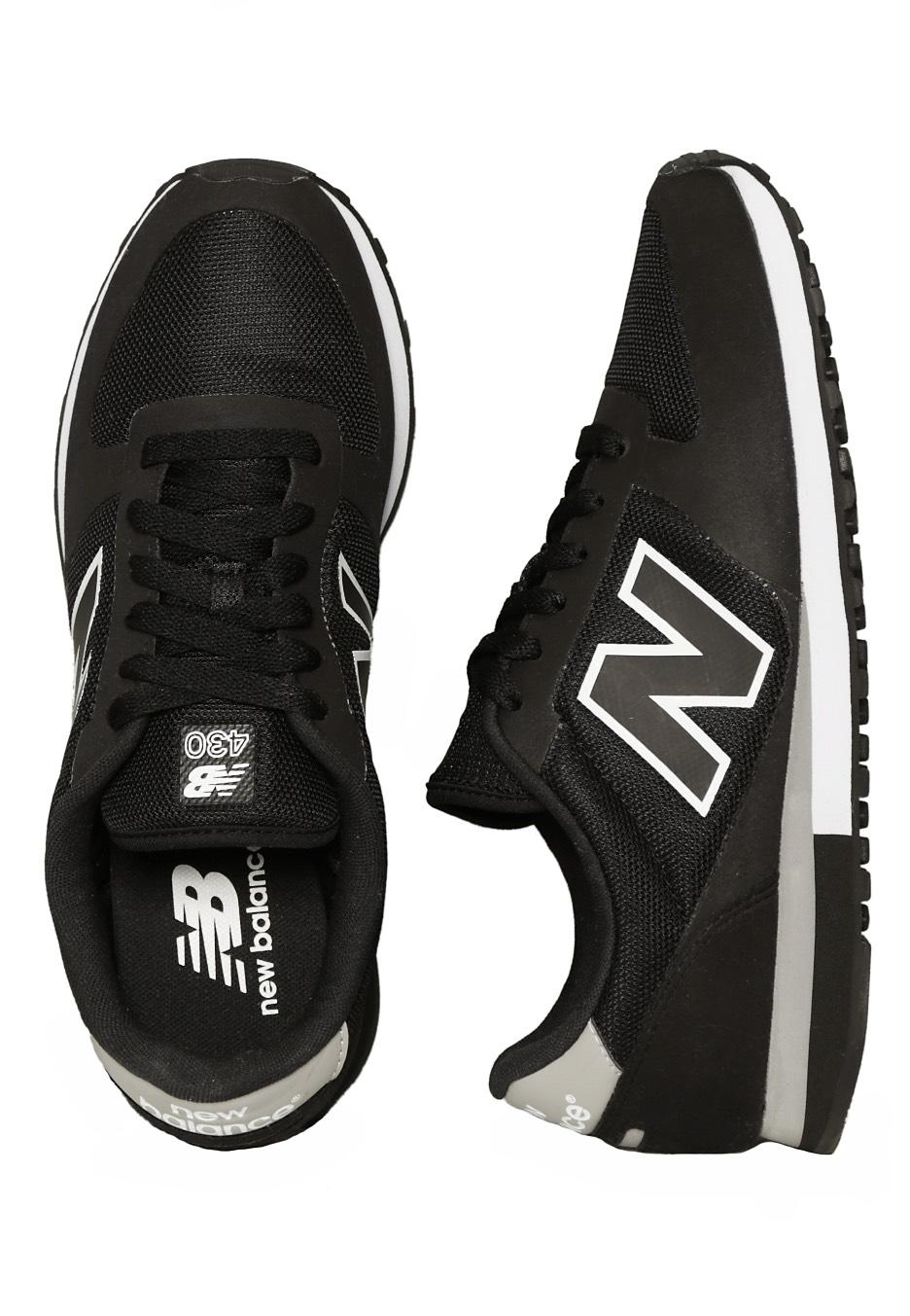 new balance u430bw black white shoes impericon