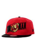 New Era - Breaker Snap Ironman Red/Black - Cap