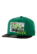 New Era - Comic Panal 2 Hulk Green/Black - Cap