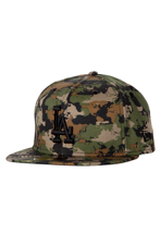 New Era - Continent Camo Los Angeles Dodgers Woodland - Cap