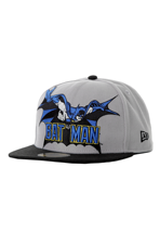 New Era - Heroic Title Batman Official Grey/Black - Cap