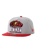 New Era - Heroic Title Ironman Official Grey/Red - Cap