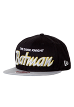 New Era - Reverse Hero Word Batman Official Black/Grey - Cap