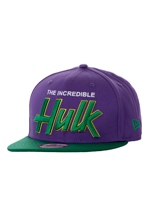 New Era - Reverse Hero Word Hulk Official Purple/Green - Cap