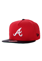 New Era - Sai`d Snap Reverse Atlanta Braves Red/Black - Cap