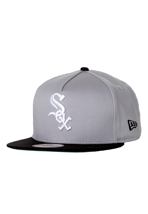 New Era - Sai`d Snap Reverse Chicago White Sox Heather Grey/Black - Cap