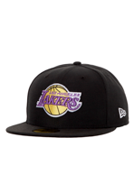 New Era - Seasonal Basic NBA Los Angeles Lakers Black/Team - Cap