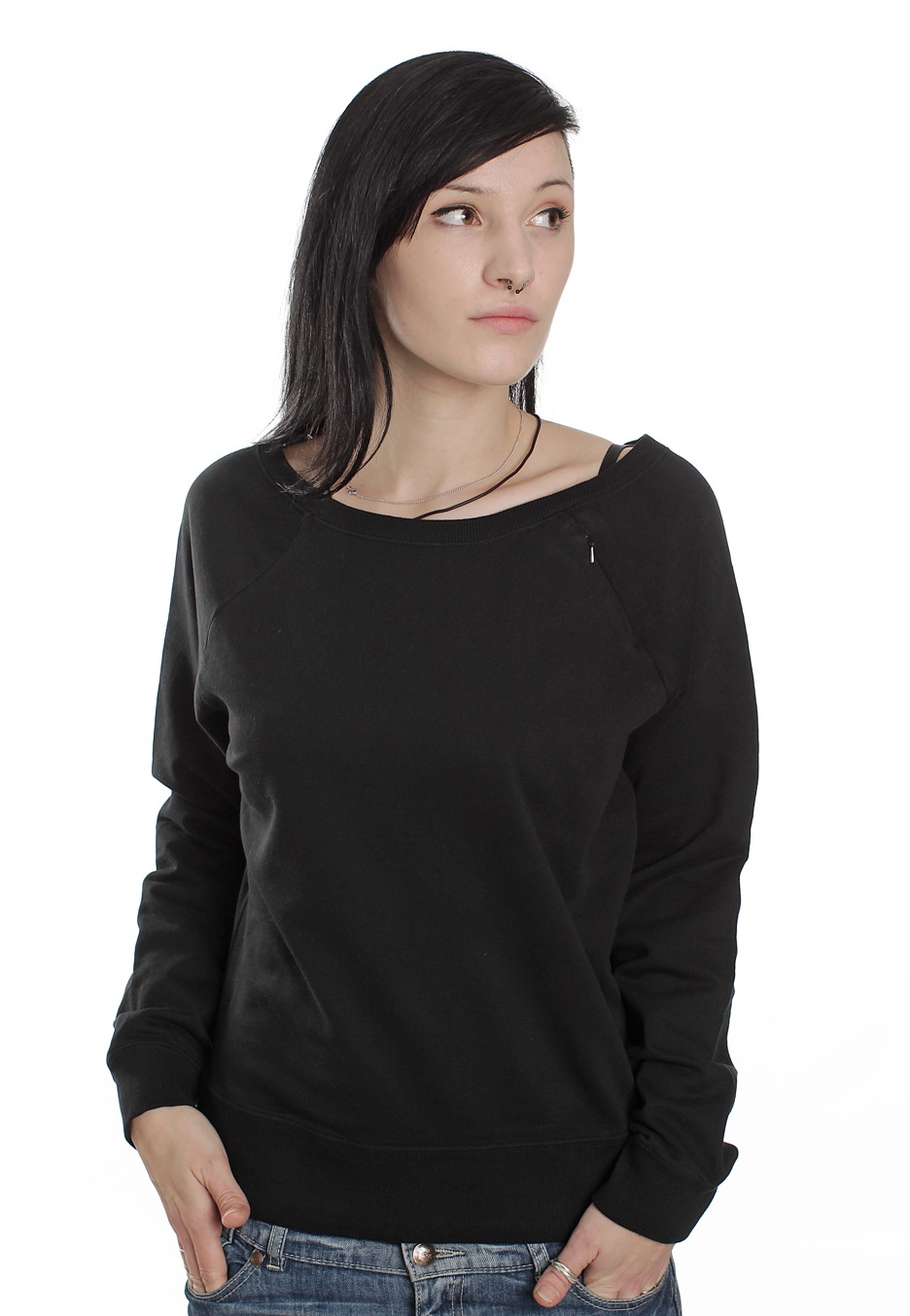 A sweater (also called pullover, jumper, and jersey) is a relatively heavy garment intended to cover the torso and arms of the human body and typically to be worn over a shirt, blouse, T-shirt, sweater .