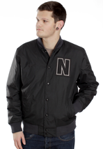 Nike - AD Letterman Black/Black - College Jacket