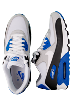 Nike - Air Max 90 Anthracite/White/Obsidian/Soar - Shoes