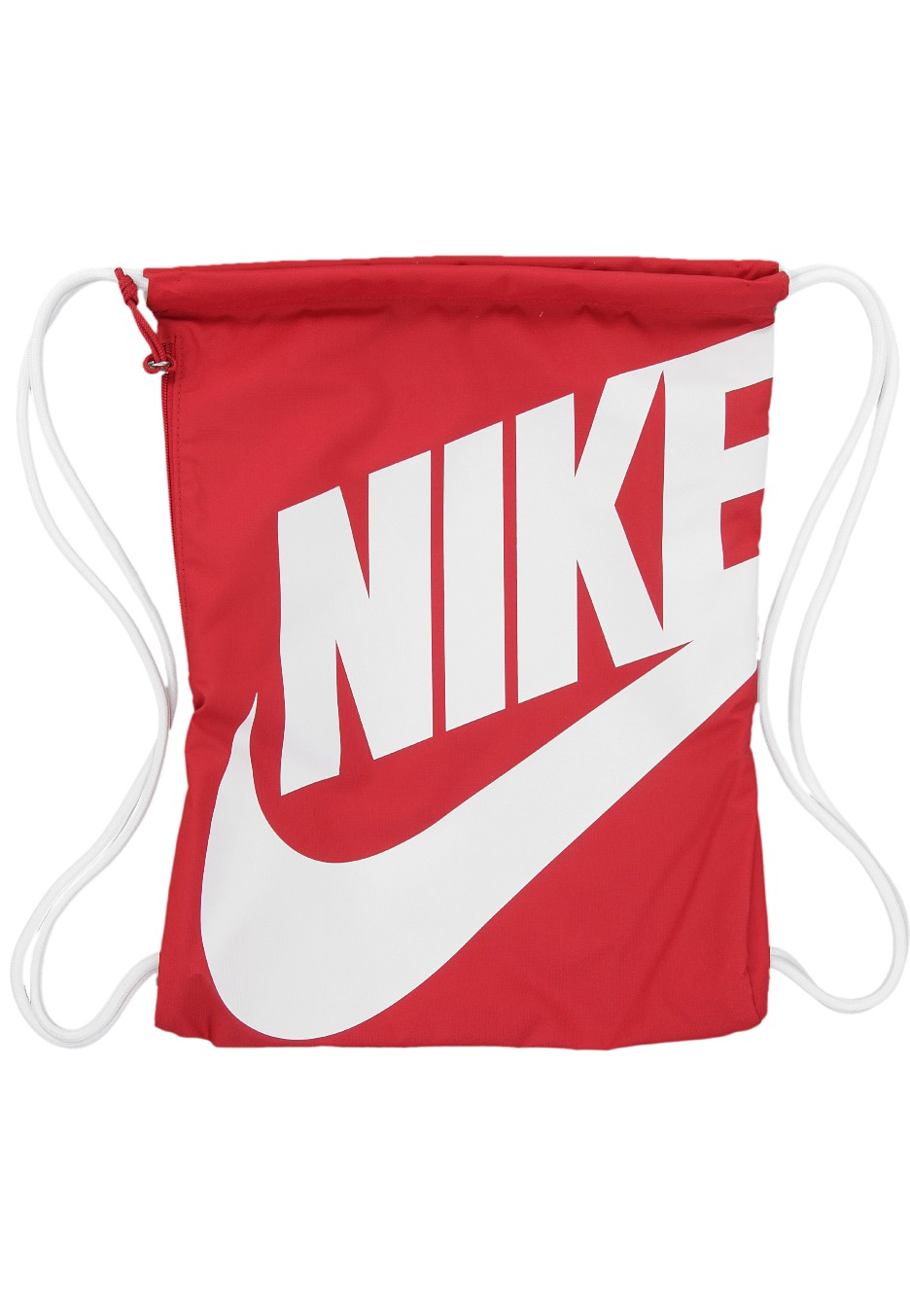 Nike heritage gymsack gym red white white backpack for Nike official site italia