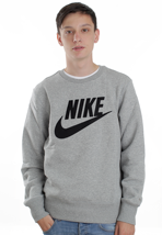 Nike - PL Brushed Dark Grey Heather/Black - Sweater