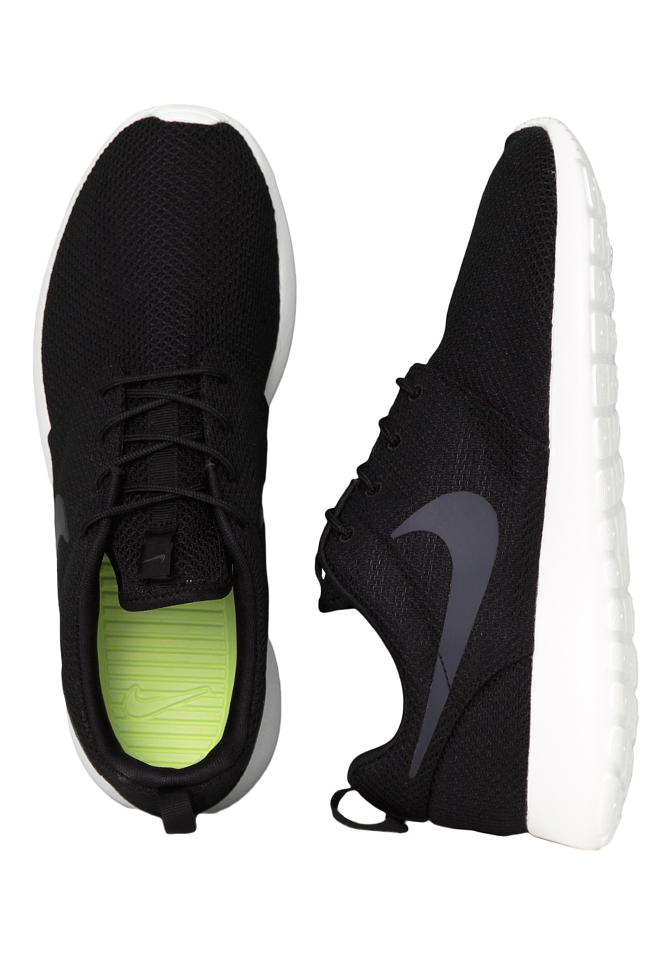 Nike - Roshe Run Black/Anthracite Sail - Shoes - Impericon.com Worldwide