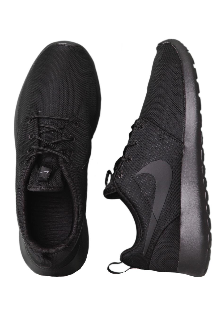 nike roshe run black black shoes worldwide. Black Bedroom Furniture Sets. Home Design Ideas