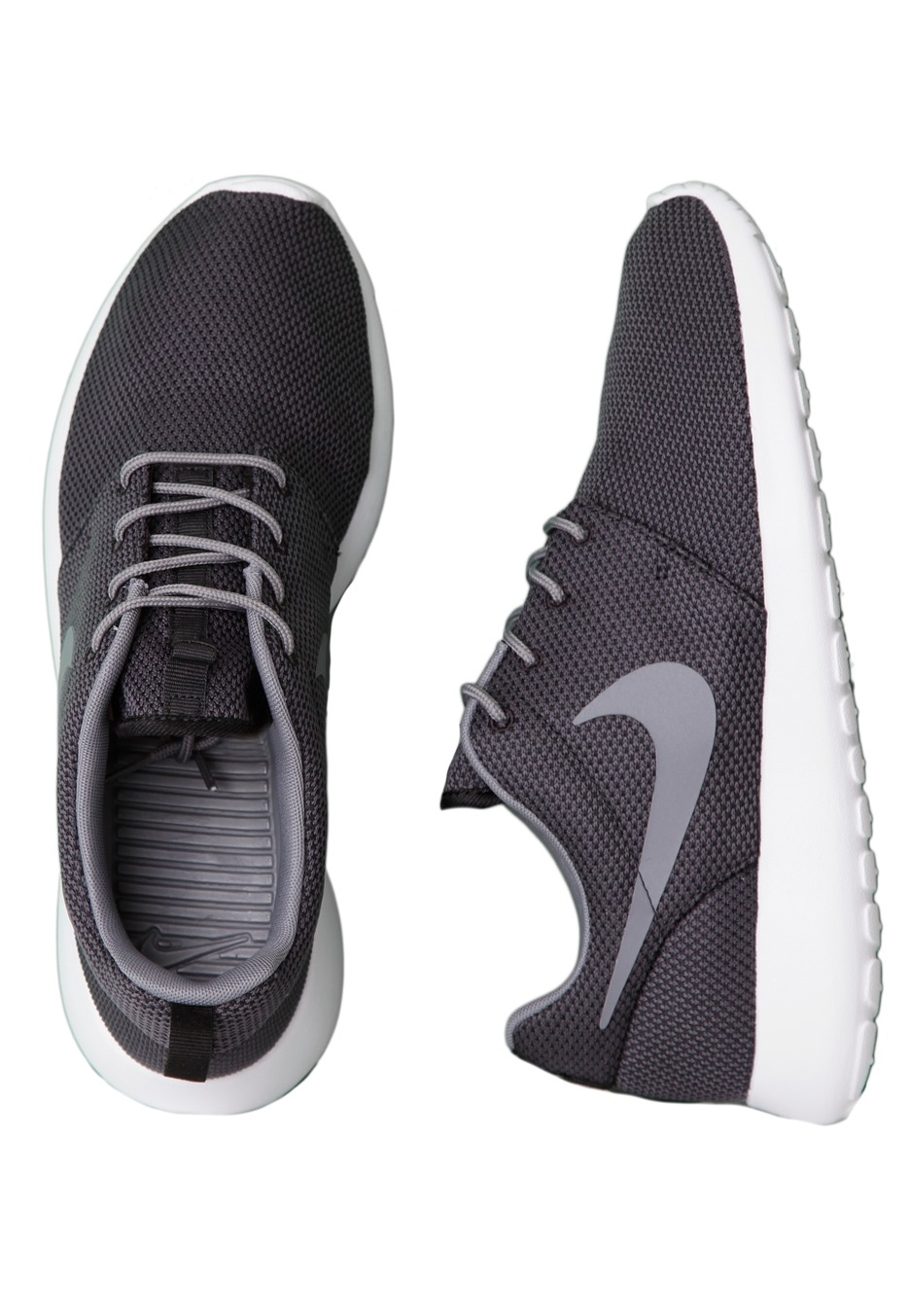 nike roshe run black cool grey white shoes impericon. Black Bedroom Furniture Sets. Home Design Ideas