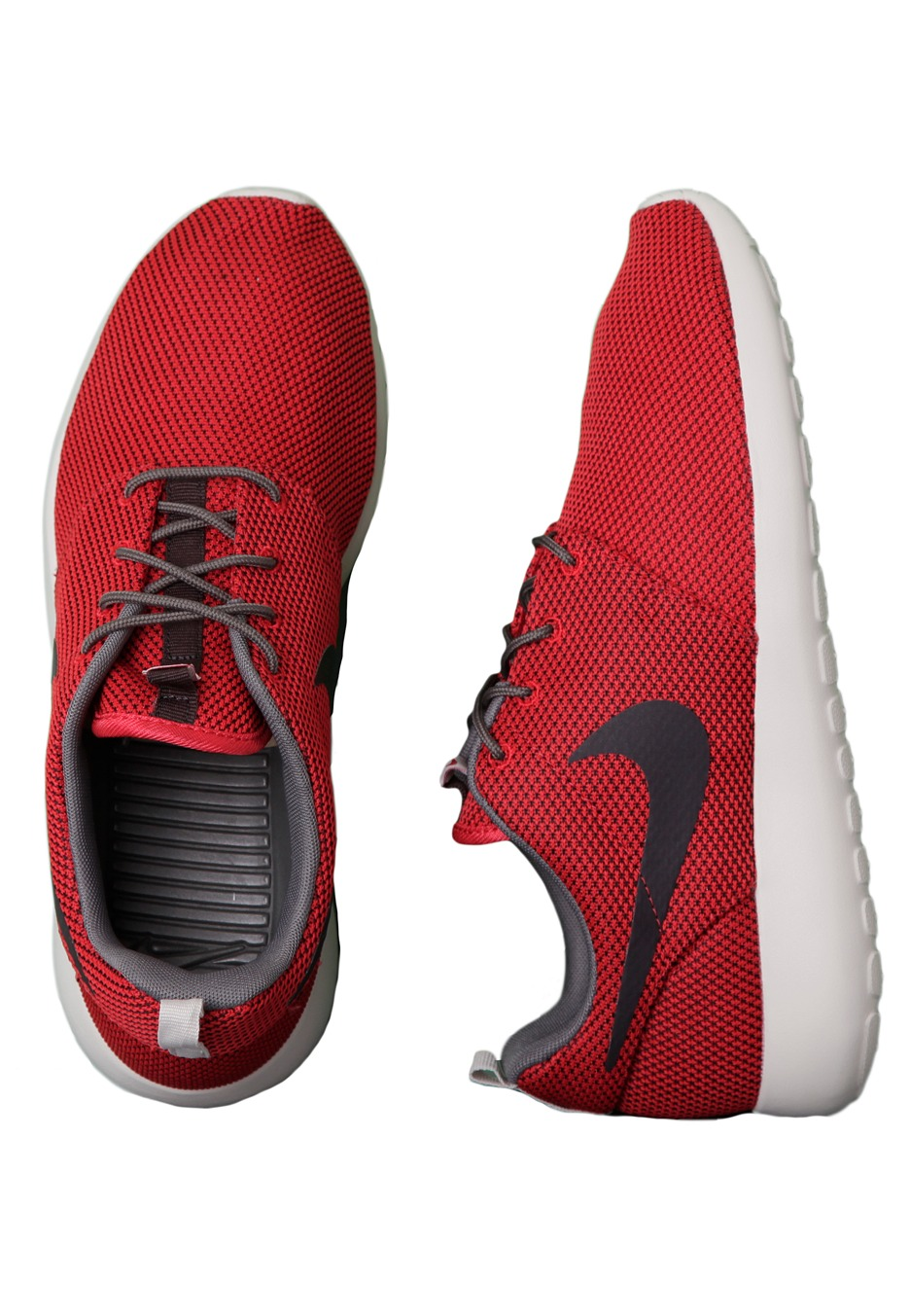 nike roshe run heren rood
