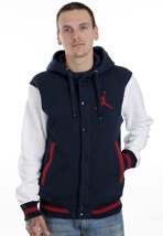 Nike - The Varsity Obsidian/White/Gym Red - College Jacket