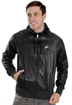 Nike - The Windrunner Black/Black/Black/White - Jacket