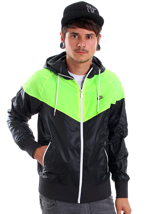Nike - The Windrunner Black/Volt/Black - Jacket