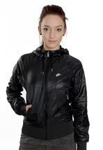 Nike - The Windrunner Black/White - Girl Jacket