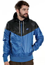 Nike - The Windrunner Royal Blue/Black - Jacket