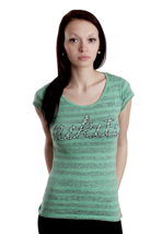 Nikita - Parakeet Deep Mint - Girly