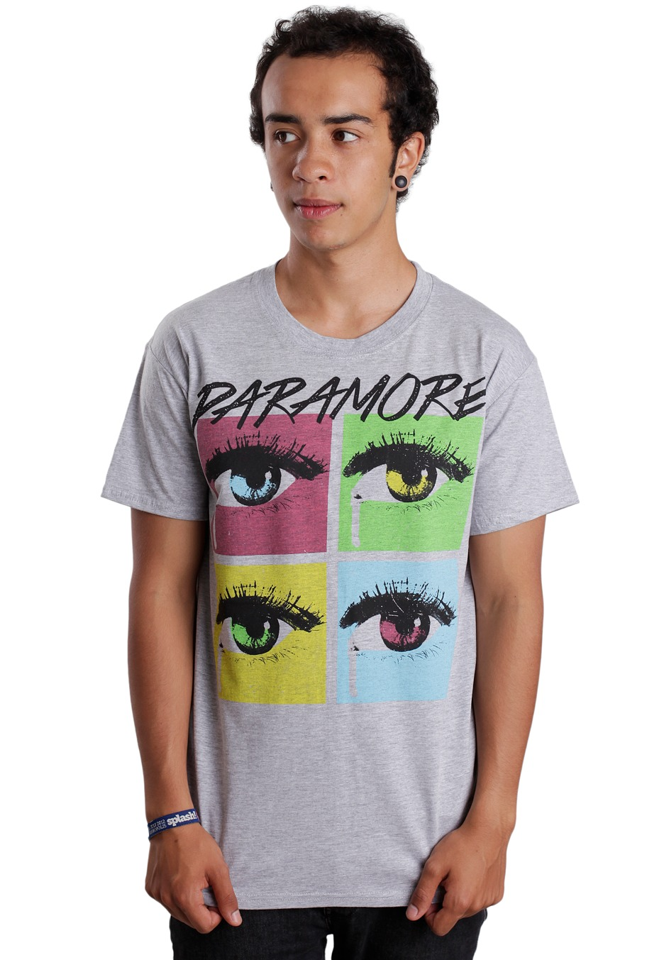 Paramore - Pop Tear Grey - T-Shirt - Official Pop Punk ... Paramore Nederland