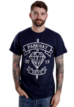 Parkway Drive - Diamond Navy - T-Shirt