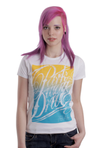 Parkway Drive - Gradient White - Girly