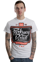 Parkway Drive - No Regrets White - T-Shirt