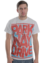 Parkway Drive - Red Block White - T-Shirt