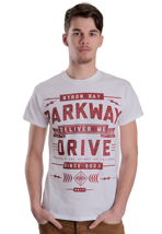 Parkway Drive - Red Deliver Me White - T-Shirt