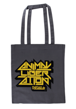 Peta2 - Animal Liberation Graphite Grey - Tote Bag