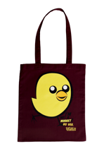 Peta2 - Nugget Burgundy - Tote Bag