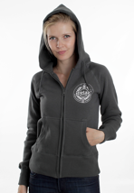 Peta2 - Rise And Resist Charcoal - Girl Zipper