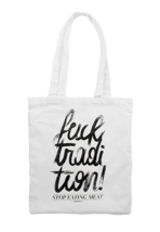 Peta2 - Tradition White - Tote Bag