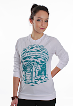 Peta2 - Tree White - Girl Sweater
