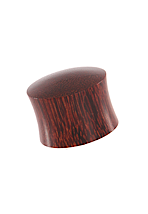 Wood Flared Dark - Plug