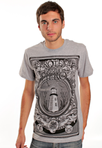 Protest The Hero - Lighthouse Sportsgrey - T-Shirt