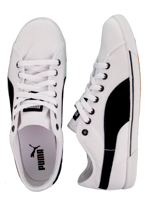 Puma - Benecio Canvas White/Black - Shoes