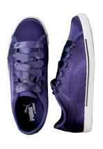 Puma - Benecio Satin Navy Blue - Girl Shoes
