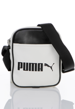 Puma - Campus Portable Whisper White/Black - Bag