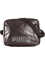 Puma - Campus Reporter Black/Black Steel Grey - Bag