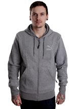 Puma - MLS Medium Grey Heather - Zipper