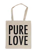 Pure Love - Logo Natural - Tote Bag