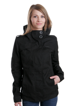 Ragwear - Ewok A Black Jack - Girl Jacket