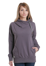 Ragwear - Fan Rabbit Grey - Girl Hoodie